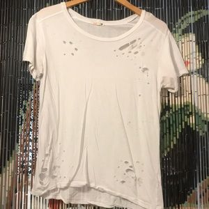 Sundry Distressed T-Shirt for SALE!